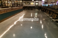 Our associate, Beyond Concrete, expertly utilized the Bomanite Modena SL Custom Polishing System to create the interior flooring at Angeline by Michael Symon, ensuring design standards and budget guidelines were met while providing an environmentally friendly and functional decorative concrete floor that enhances the sleek and modern design inside this restaurant.