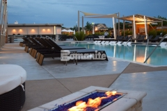 Our colleague, Bomanite of Tulsa, Inc., won the Bronze Award in 2017 for Best Bomanite Exposed Aggregate Project for their skillful installation of Bomanite Alloy decorative concrete, resulting in this stunning pool deck at the Hard Rock Hotel & Casino.