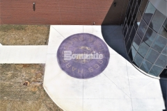 Bomanite Alloy was installed here to create a highly durable and decorative concrete paving surface that provides increased surface and slip resistance while adding a distinctive design aesthetic to the hardscape.
