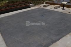 Bomanite Alloy Exposed Aggregate was installed here to create a hardscape plaza that is extremely durable and adds a distinctive design touch to the space that beautifully depicts the attractive character and high quality of Bomanite decorative concrete.