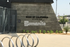 Bomanite Exposed Aggregate Sandscape Texture decorative concrete was used to create the majority of the pedestrian entrances and walkways throughout and around the LAFC Stadium, adding beautiful and distinctive detail to the hardscape while providing a low maintenance surface.