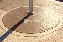 Our associate Texas Bomanite was called in to install over 145,000 SF of architectural concrete at the Tanger Outlets Fort Worth and enhance the Texas-themed aesthetic by stamping four different Bomanite Bomacron patterns onto the outdoor walkways, adding unique interest and ambiance throughout the hardscape surfaces.