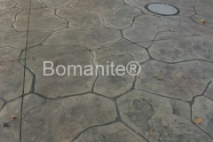 Heritage Bomanite was asked help create a newly designed entrance to the Fresno Fairgrounds and chose the Bomacron Large Sandstone pattern for the surface to add natural character and an organic feel to decorative concrete hardscape.
