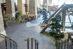 The 2018 Silver Award for Best Bomanite Imprint Systems was awarded to our colleague, Colorado Hardscapes, for their expert installation of Bomanite Imprint Systems at the Gaylord Rockies Resort & Convention Center, including this Bomacron Small Random Slate imprinted concrete that adds warmth to the space.