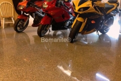 Bomanite Custom Polishing Modena concrete