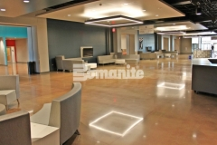 The Bomanite Patene Teres and Bomanite Patene Artectura systems were used here to create breathtakingly beautiful architectural concrete flooring and add a warm, earthy, and inviting feel throughout the gathering spaces at Hope Fellowship Church.