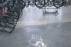 Heritage Bomanite updated the merchandise display area at Tri- Sport Bicycle of Fresno by installing Bomanite Renaissance polished concrete floors and transformed the space by creating a custom designed surface that set this showroom apart.