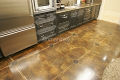 Bomanite Toppings Systems Micro-Top concrete at Wilson Office by Heritage Bomanite.