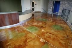 Bomanite Toppings Systems Mico-Top concrete at Madera Youth Center in Madera, CA by Heritage Bomanite.