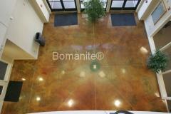 Bomanite Toppings Systems Patene Artectura concrete at Dinuba Vocational Center in Dinuba, CA by Heritage Bomanite.